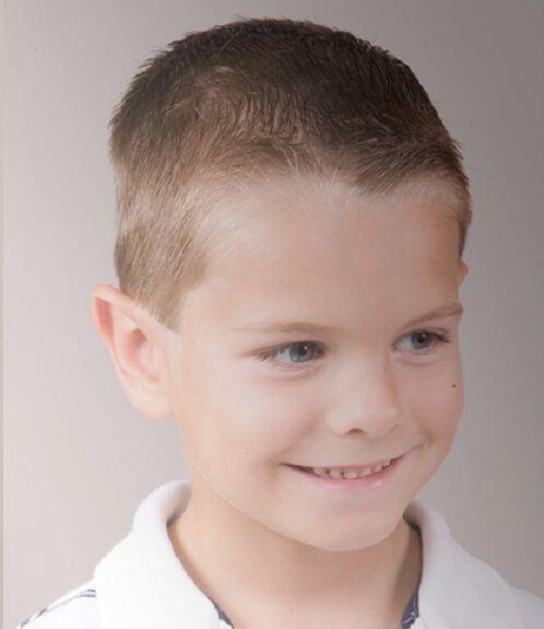 corte de pelo para niño