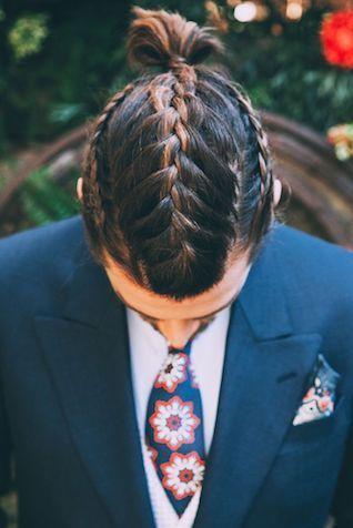 main braids o trenzas de hombre