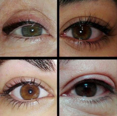 micropigmentacion de ojos en centro de estetica