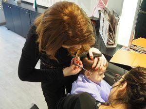 Corte pelo niño en peluquería para infantil Barcelona