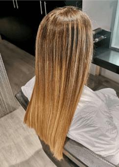 Tratamiento con keratina para alisado del cabello
