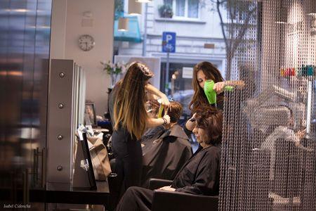 Salón de belleza en Corsega